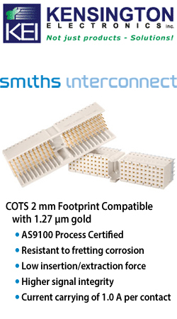 Smiths Interconnect COTS Plus 2mm Hard Metric Connector For Compact PCI Applications