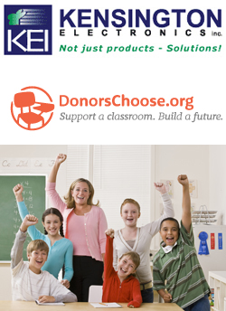 KEI Supports DonorsChoose